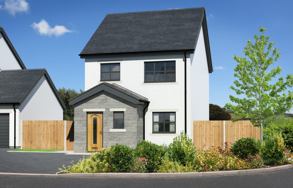 Brir Lea 3 bed detached New home, new homes, nether kellet, carnforth, lancashire, new build, family home