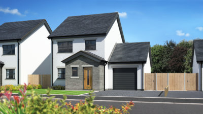 New homes development Netherr Kellet, Carnforth