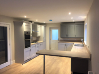 Kitchen design Greeenways OVer Kellet Dormer bungalows new development