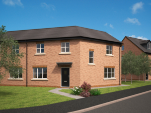 Heysham new home development plot 5