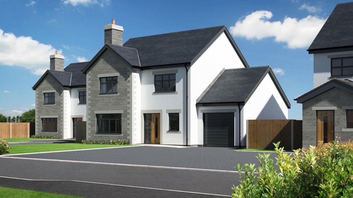 Briar Lea 4 Bed detached garage new homes development nether kellet carnforth