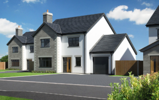 Briar Lea 4 Bed detached garage new homes development nether kellet carnforth