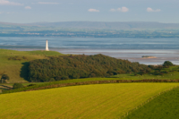 Hoad Monument and Morecambe Bay